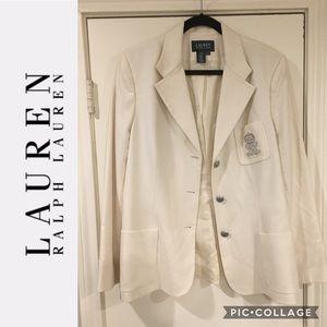 Ralph Lauren - Vintage Crest Blazer - Size 16